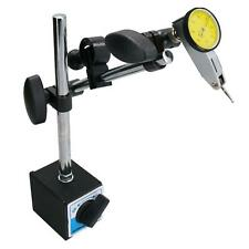 Lever Type Metric Dial Test Indicator & Magnetic Base Stand DTI Gauge Clock