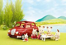 Sylvanian Families Family Mini Figure Play Set Accessory Saloon Toy Car Red
