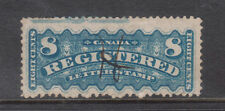 Canada #F3 XF Used Showing Imprint In Top Margin