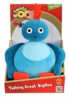 Twirlywoos - Talking Plush Great BigHoo Soft Toy *BRAND NEW*