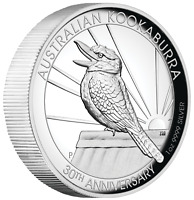 2020 Australian Kookaburra 1oz Dollar $1 Silver Proof High Relief Coin Australia