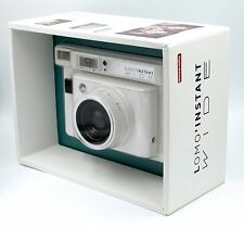 Lomography Lomo'Instant Wide Camera (White) - 90mm f/8 Lens & Built-In Flash NEW