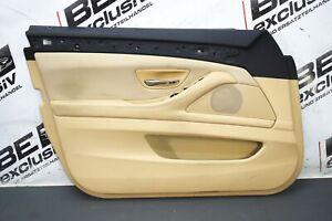 BMW 5er F11 Touring 520D Türverkleidung Stoff Leder beige Tür VL 3199056