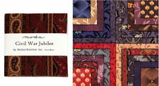 Civil War Jubilee CHARM PACK / Civil War Reproduction Quilt Squares Moda Fabric