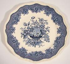 Soucoupe sous assiette MASON'S céramique Angleterre Ascot Bleu