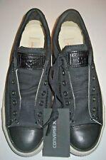 Converse John Varvatos Womens CT Burnished Slip On Shoes Black Size 7 147346C