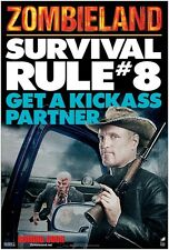 Zombieland movie poster - Survival Rule # 8 Get A Kickass Partner