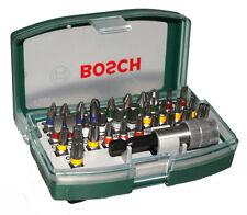 Bosch Bit Satz 32 tlg. Bits Bitsatz Schnellwechsel Bithalter Magnethalter Neu