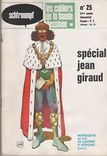 schtroumpf glenat # 25 SPÉCIAL JEAN GIRAUD moebius 1974