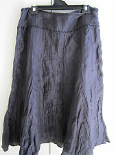 Brand New Ladies Linen Blend  Mixit Grey A Line Skirt in Size 16 RRP $139.00