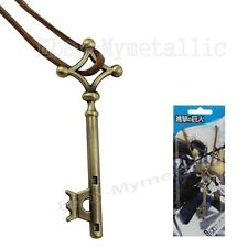 Attack On Titan Eren Yeager's Basement KEY 6.8cm Cosplay Pendant Necklace S #01