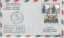 ITALIA PRIMI VOLI: ROMA - MILANO - MONTREAL - NEW YORK