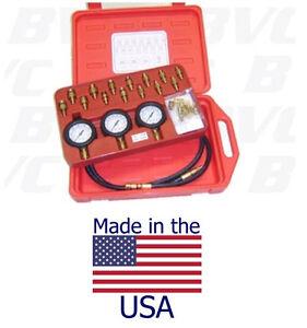 American Made Oil & Transmission Pressure Tester Kit  Master Set - Made In USA