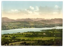 5 Old Photos Windermere Lake District Langdale Pikes Orrest Head Photo Poster