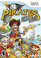 Pirates: Hunt for Blackbeard's Booty (Nintendo Wii, 2008) DISC IS MINT