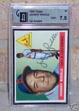1955 Topps Baseball #98 Johnny Riddle  GAI 7.5