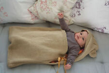 BABY/knitting pattern for babies/ hooded bear  sleeping bag  0/6m
