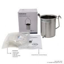 Enema-Bucket-Kit-1-5-Liter-Silicon-Component-Surgical-grade-Stainless-Steel  AU