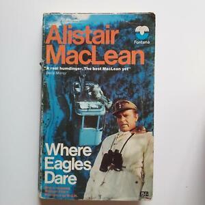 Where Eagles Dare, Alistair MacLean, (Collins (Fontana Books), 1969)