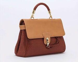 Rattan Style Designer Handbag by Weev of London