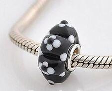 Bracciali di bigiotteria perle nere