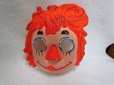 Vintage 1979 Ben Cooper Halloween Costume:  Raggedy Ann Size Small 4-6