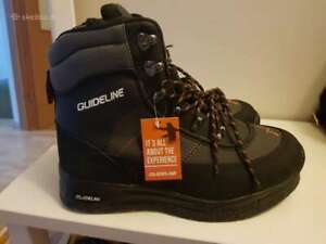 Guideline Alta wading boots felt sole new