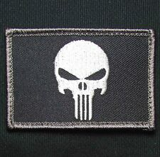 PUNISHER SKULL SWAT OPS USA US MILITARY TACTICAL MORALE VELCRO® BRAND PATCH