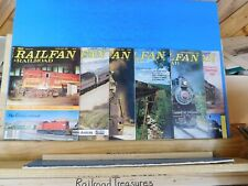 Railfan & Railroad Magazine Complete Year 1985 Complete Year 6 issues