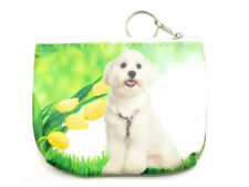 "4.5"" x 3.5"" Double Sided Puppy Zipper Coin Purse ~ Great Gift Idea!"