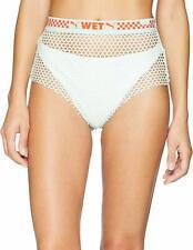 $450 Puma x Fenty By Riahnna Green Mesh Overlay Pull On Bikini Bottoms Size L