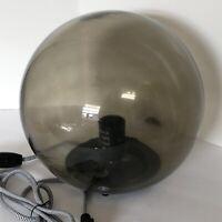New Ikea Fado Table Lamp Gray Soft Cozy Mood Light (light bulb not included)