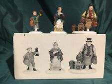 "(1) Department 56 / Heritage #5560-3 Dickens ""Come Into The Inn"" Set Of 3Pc."