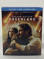 Greenland - Blue Ray + DVD + Digital Code + Slipcover - Brand New Sealed
