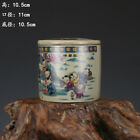 Chinese ancient antique hand make Pastel Cricket pots Porcelain a1944