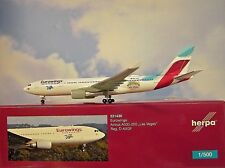 Herpa Wings 1:500 Airbus A330-200 Eurowings las Vegas 531436 Modellairport500