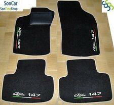 4 Block 7 Décorations sol sur mesure ALFA ROMEO 147 JTD tapis de voiture