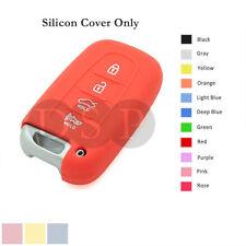 Silicone Cover fit for HYUNDAI Elantra Sonata Veloster Smart Remote Key Case OR