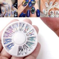 3D Charm Nail Ornaments Decal Flat Acrylic Crystal Nail Art Accesssory Decor DIY