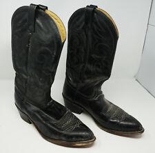 Vintage Men's Leather Cowboy Boots 10 1/2 D