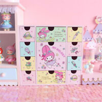 HOT Drawer My Melody Japan Anime Holiday Gift Desktop Storage Jewelry Box Wooden