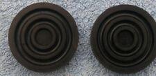 Austin A30 A35 a pair of new Brake Clutch Pedal Rubber Pads