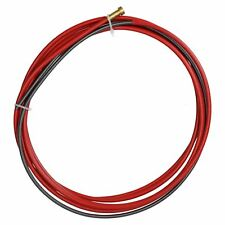 P.C. Liner Wire 1.0 - 1.2mm x 3M Welding Red Steel Plastic Coated MIG Torch