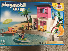 NEW Playmobil 5636 City Life Luxury Beach House RETIRED