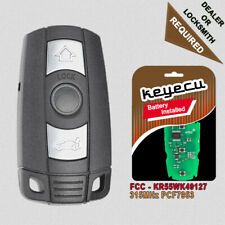 3 Button Remote Car Key Fob CAS3 CAS3+ 315MHz PCF7953 for BMW 3 5 Series All