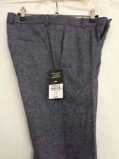 "9cf4f6d06e5 Mens Blue Smart Wool Blend Smart Trousers 28"" Waist Regular By Topman Skinny  Fit"