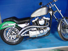 CURVED EXHAUST PIPES IRONHEAD SPORTSTER XLCH XLH XL 1957-1978 1980-1985 883CC