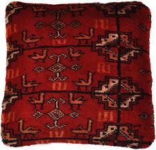 Gabbeh Teppich Kissenbezug 42 x 42 cm Persien Wolle handmade