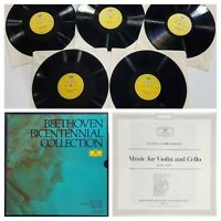 BEETHOVEN BICENTENNIAL COLLECTION  Vol. X (5 LPs) Record 33 rpm Vinyl RARE FREE
