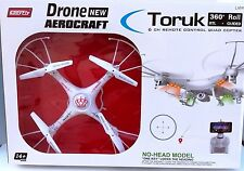 Toruk X2Y RC Drone with HD 720P WiFi Camera Headless Quadcopter 6CH 2.4GHz